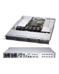 FormatServer THOR E111 1U 1CPU AMD EPYC™ Socket SP3 8 DDR4 Redundant PSU 4 3.5/2.5 inch SATA 6 Gb/s 10GT