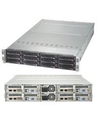 Supermicro 2U 4Nodes 6029TP-HTR 4x DP Scalable Processors 4x 16 DIMM, DDR4 4x (3x 3.5'' SATA3) 1 SIOM 2000W (Titanium, Redundant)