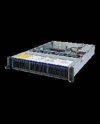 Giagabyte Server 2U UP ROME R272-Z31 24x2.5'' HDD bay + 2x2.5'' HDD bay (from SAS Expander) 2x 1200W 80+ Platinum