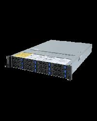 Giagabyte Server 2U DP ROME R282-Z90 12x 3.5'' HDD bay + 2x2.5'' HDD bay SATA 6Gb / SAS 12Gb 2x 1200W 80+ Platinum