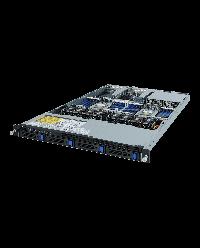 Giagabyte Server 1U DP ROME R182-Z90 4x 3.5'' HDD bay SATA 6Gb / SAS 12Gb 2x 1200W 80+ Platinum