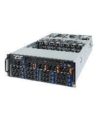 "Gigabyte G482-Z50 (6NG482Z50MR-00)  Dual AMD EPYC Up to 10 x PCIe GPGPU cards 8 x 2.5''  NVMe, 2x SATA/SAS 12 x 3.5"" SATA/SAS 6NG482Z50MR-00"