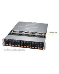 "Format STOR AEGIR S5 22E24 2U 24x 2.5"" SSD NVME"