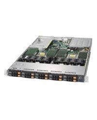 Supermicro 1U AS -1123US-TN10RT DP AMD EPYC™ 7000-Series  10x 2.5'' NVMe 1000W (Redundant, Titanium)