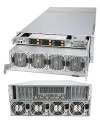 Supermicro 4U 4124GO-NART NVIDIA HGX A100 8-GPU 40GB/80GB, NVLink, NVSwitch 6 Hot-swap U.2 NVMe 2.5'' 2200W (3+1)