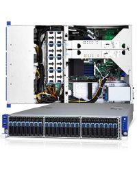 Tyan Transport SX B8026T70AV2E24HR (2) SATA 6Gb/s  rear + (24) NVMe front (1) AMD Socket SP3