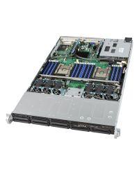 Intel® Server System R1208WFTYS 1U 8x 2.5'' HDD/SSD 1100W ( opt. redundant PSU )
