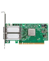Mellanox ConnectX-4 EN network interface card, 100GbE dual-port QSFP, PCIe3.0 x16, tall bracket, ROHS R6