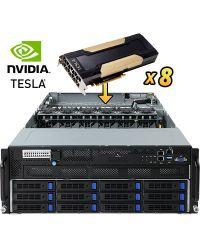 Gigabyte Server G481-H81 DP Xeon Scalable CPU 24 DIMM DDR4 4U 12x3.5'' (8x SATA3 + 4 optional RAID)HDD 3x 1600W PSU 2x1GbE/1xIPMI 8x PCIex16 (GPGPU) + 1xOCP + 1xPCIex8PCI-E 6NG481H80MR-00