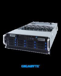 Gigabyte 4U G492-H80 8 x GPU Dual Root Server Socket P+ 32 x DIMM 12 x 3.5'' 3 x 2200W redundant PSUs