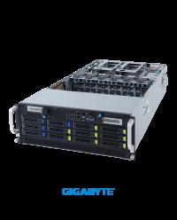 Gigabyte 4U 4U G492-HA0 10 x GPU Dual Root Server Socket P+ 10 x PCIe x16 slots (Gen4 x16 bus) 3 x 2200W