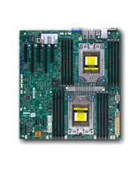 MB Supermicro H11DSiO  DP AMD EPYC™ 7000-series 16 DIMM slots 2TB DDR4 10 SATA3 1 M.2, 2 SATA DOM 2 1GbE E-ATX