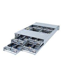 Gigabyte 2U 4 Nodes H252-3C0 Socket P+ 8 x DIMM slots 2xPCIe x16 (Gen4 x16 bus) 1 x OCP 2.0 1600W