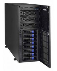 Tyan Thunder Pedestal 5-GPU Professional Workstation (3) 5.25'' device bays + (8) 3.5''/2.5'' Hot-Swap SSD/HDD
