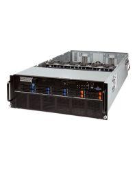 Gigabyte Server G481-S80 + 8 V100-32GbE DP Xeon Scalable CPU 24 DIMM DDR4 4U 10x 2.5'' (6x SATA3 + 4x NVME) 12Gb HDD 4x 2200W PSU 2x1GbE/1xIPMI 8x SXM2 + 4x PCIex16 + 1xOCP + 1xPCIex8PCI-E 6NG481S80MR-00