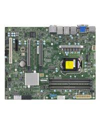 MB X12SCA-F UP Xeon® (LGA 1200) 4 UDIMM 128GB DDR4 non-ECC/ECC 2x 1GbE, ALC 888S HD Audio, vPro AMT, IPMI ATX / Intel® W480