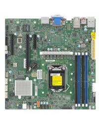 SM MB X12SCZ-QF,Micro ATX,Comet Lake PCH Q470,LGA1200,1 PCIE x1