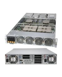 """Supermicro SuperServer 2124GQ-NART 2xSocket SP3/node AMD EPYC™ 7003/7002 CPU 32 DIMM DDR4 2U 4x2,5"""" HDD 2x2200W PSU 2x10G RJ45/1xIPMI 5xLP PCI-E 4.0 Hybrid backplane Complete System Only 4x GPU Nvidia HGX"""