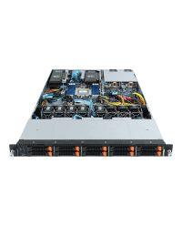 Gigabyte 1U MZ12-HD2 Single AMD EPYC 3x NVIDIA Tesla PCIe GPU 10x 2.5'' U.2 2x1200W PSU 6NR162Z10MR-00