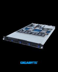 "Gigabyte 1U R182-340 Socket P+ 32 x DIMMs 4 x 3.5"" SATA/SAS 2 x 7-pin SATA DOM 2 x PCIe Gen4 x16 1 x OCP 3.0 Gen4 x16 1 x OCP 2.0 Gen3 x8 1300W"