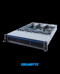 """Gigabyte 2U R282-2O0 Socket P+ 24 x 2.5"""" SATA/SAS SAS35x36R expander 2 x OCP 1600W"""