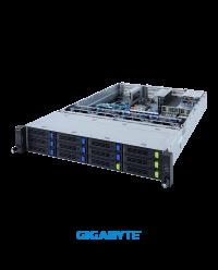 Gigabyte 2U R282-3C1 Dual Socket P+ 32 x DIMMs 12x 8 x 3.5'' 2 x 2.5'' 8 x PCIe Gen4 x16 2 x OCP 1600W