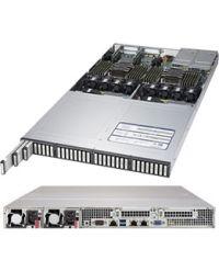 Supermicro 1U SSG-1029P-NEL32R DP Scalable Processors 24 DIMM, up to 3TB DDR4 32x EDSFF 9.5mm NVMe 2x 10GBase-T 1600W (Redundant, Platinum)