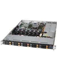 Supermicro 1U SSG-110P-NTR10 Single Socket P+ (LGA-4189) 10x Hot-swap 2.5'' NVMe 8 DIMMs 800W/860W RPSU