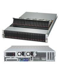 "Supermicro 2U SSG-2029P-E1CR48L DP Scalable Processors 48x 2.5"" NVMe, 2x 2.5"" rear 1600W (Redundant, Titanium)"