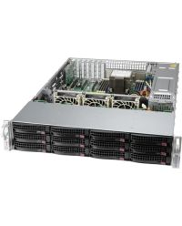 Supermicro 2U SSG-520P-ACTR12H Single Socket P+12x 3.5'' SSD/HDD SAS3 (12Gbps) via Broadcom 3916; RAID 0, 1, 5, 6, 10, 50, 60 support 2 RJ45 10GBase-T 800W, Titanium Level