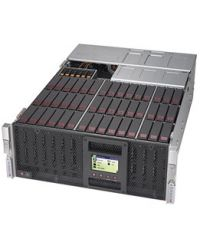 "Supermicro 4U Storage SSG-6049P-E1CR45L+ DP Scalable Processors 45x 3.5"" SAS3/SATA3 2 rear 2.5"" 6 opt.NVMe 1600W (Redundant, Platinum)"