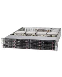 Supermicro 2U Storage SuperServer SSG-620P-ACR16H Dual Socket P+ 12x 3.5'' SAS/SATA  4xNVMe Broadcom® 3916 1600W  RPSU