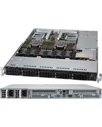 Supermicro 1U CloudDC SuperServer SYS-120C-TN10R Dual sockets P+ (LGA-4189) 10x 2.5'' NVMe/SATA/SAS 860W RPSU