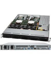 Supermicro 1U SuperServer SYS-120C-TR Dual sockets P+ (LGA-4189) 3rd Gen Intel® Xeon® Scalable processors 8x 2.5'' SATA/SAS 860W RPSU