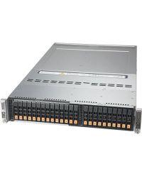 Supermicro 2U BigTwin SYS-220BT-DNTR Socket P+ 20 DIMMs  2 NVMe/SATA 2.5'' 2 M.2 NVMe OR 2 M.2 SATA3 2200W