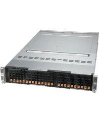 Supermicro 2U 4Node BigTwin SYS-220BT-HNC8R Socket P+ 20 DIMMs 2 PCI-E 4.0 x16 6x NVMe/SAS/SATA 2.5 2600W