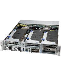 Supermicro 2U 4xGPU SuperServer SYS-220HE-FTNR Dual Socket P+ (LGA-4189) 32 DIMM 6x2.5'' SAS/SATA/NVMe 2000W RPSU