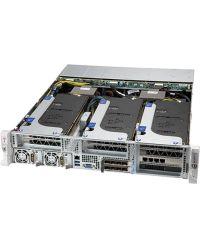 Supermicro 2U Hyper SYS-220HE-FTNRD Dual Socket P+32 DIMM 4 PCI-E 4.0 x16 slots with GPU/Acce 1300W redundant DC