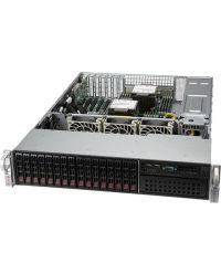 Supermicro 2U SuperServer SYS-220P-C9RT Dual Socket P+ 18 DIMM 5 PCI-E 16x 2.5''8x SAS 3908 HW RAID controller and 8x SATA drives  Dual 10GbE 1200W