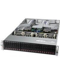 "Supermicro 2U Ultra SuperServer SYS-220U-TNR Dual Socket P+ 32 DIMM 20x 2.5"" NVMe/SATA/SAS + 2x2.5'' SAS/SATA 1600W RPSU"