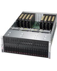 Supermicro 4U GPU 4029GP-TRT2 DP Scalable Processors 24 DIMM, up to 3TB DDR4 24x 2.5''(8x 2.5'' supported natively) Up to 8 GPU 2000W (Redundant, Titanium)