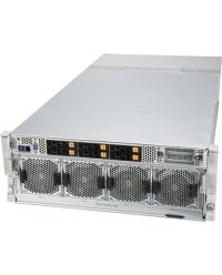 Supermicro 4U 8xNVIDIA HGX A100 SuperServer SYS-420GP-TNAR+6x 2.5'' hot-swap NVMe/SATA/SAS 2x 10GbE BaseT 3000W RPSU