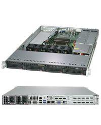 """Supermicro SuperServer SYS-5019C-WR UP E3-1200 v5/v6 CPU 4 DIMM DDR4 1U 4x3,5"""" SAS/SATA HDD 2x500W PSU 2x1GbE/1xIPMI 1xFH 2x LP PCI-E WIO SYS-5019C-WR"""