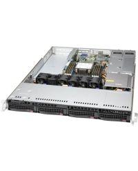 Supermicro 1U SYS-510P-WTR Single Socket P+ 8 DIMMs X550 2x 10GbE RJ45 4x hot-swap 3.5'' 500W