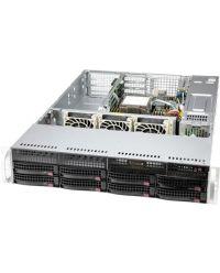 "Supermicro 2U SYS-520P-WTR Single Socket P+ 8 DIMMs 4PCI-E 4.0 x16 x 3.5"" 8x SATA drive bays (2x 2.5"" NVMe dedicated) 600W/650W"