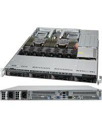 Supermicro 1U SuperServer SYS-610C-TR Dual sockets P+ (LGA-4189) 3rd Gen Intel® Xeon® Scalable processors 4x 3.5'' SATA/SAS 860W RPSU