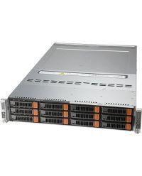 Supermicro 2U 2Node BigTwin SYS-620BT-DNC8R Socket P+ 20 DIMMs 6 NVMe/SAS/SATA 3.5'' 2200W RPSU