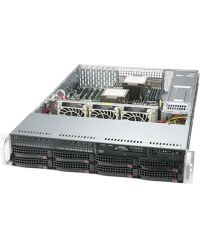 Supermicro 2U SuperServer SYS-620P-TRT Dual Socket P+ 18 DIMM 8x 3.5'' SAS/SATA 2x10GbE 1200W RPSU