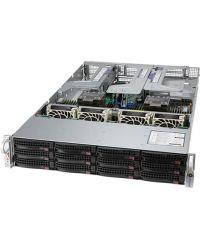 Supermicro 2U Ultra SYS-620U-TNR Dual Socket P+ 32 DIMMs 12x 3.5'' NVMe/SATA/SAS 1200W