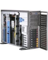 Supermicro 4U SYS-740GP-TNRT Rackmountable Tower Dual Processor (3rd Gen Intel® Xeon®) Workstation with 4 PCIe GPUs